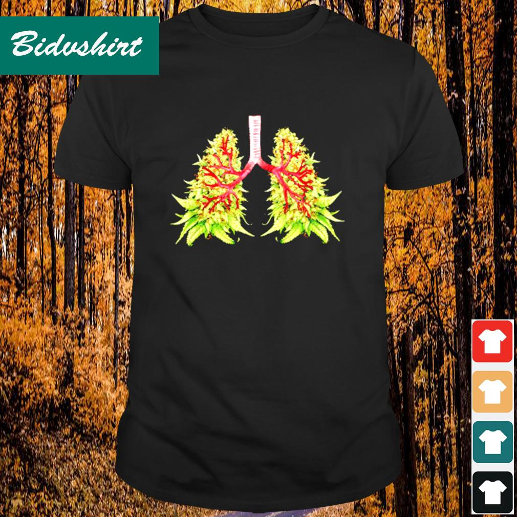Cannabis lungs shirt