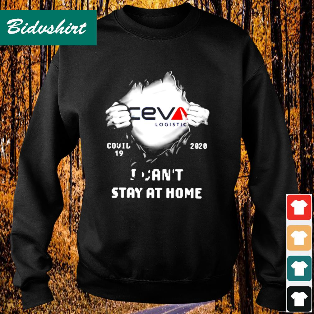 Ceva logistic inside me Covid-19 2020 I can't stay at home s Sweater