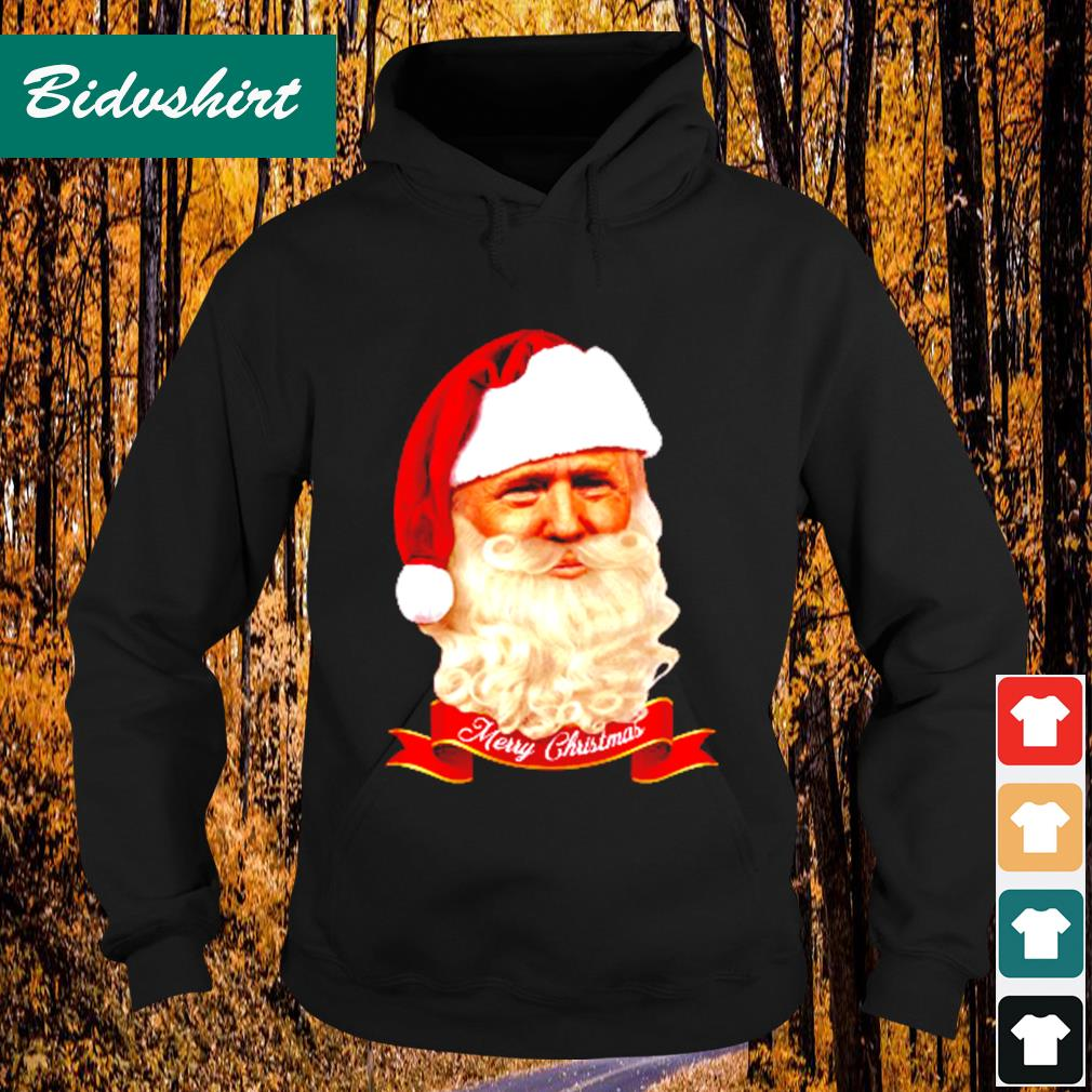 Donald Trump Santa Claus Merry Christmas s Hoodie