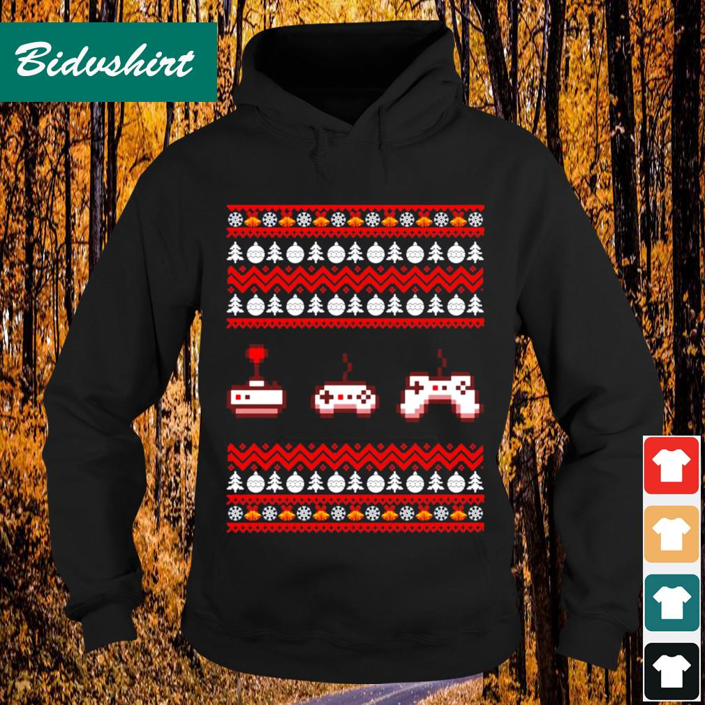 Video Game ugly Christmas s Hoodie