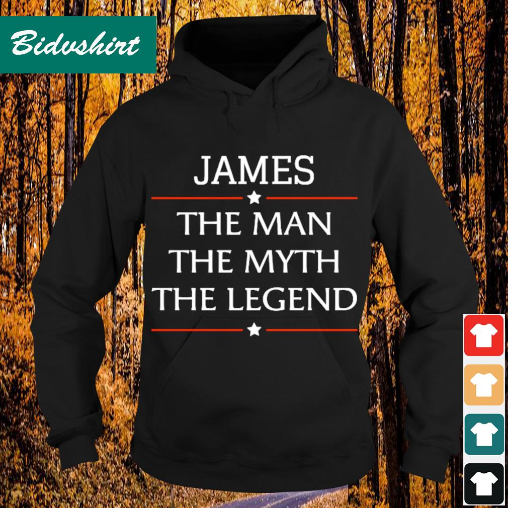 James the man the myth the legend s Hoodie