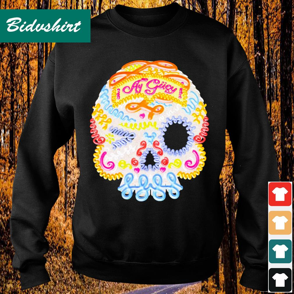 Skull coler ay gucy s Sweater