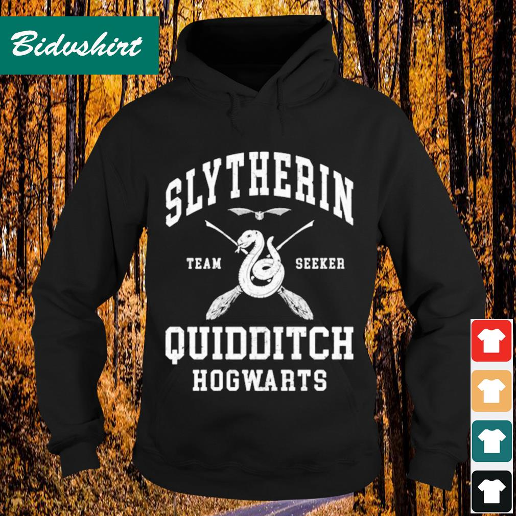 Slytherin team seeker quidditch Hogwarts s Hoodie