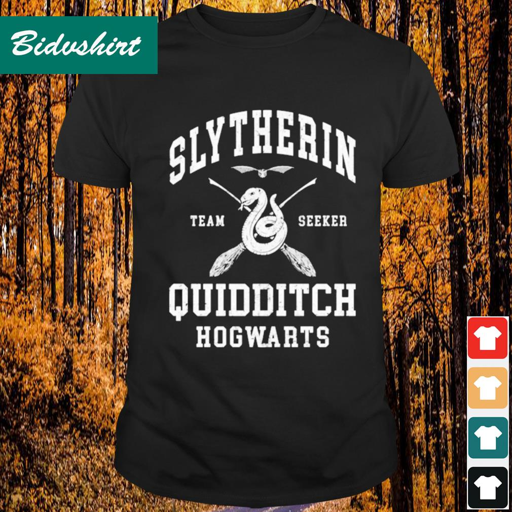 Slytherin team seeker quidditch Hogwarts shirt